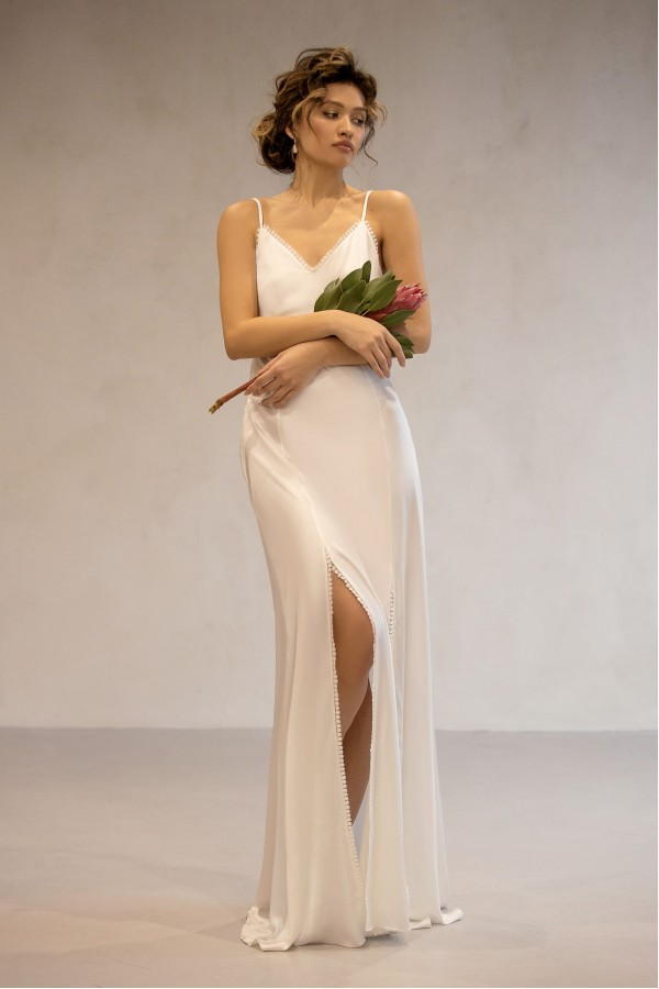 Шелковое Будуарное Платье