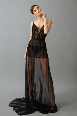 Short Lace Nightgown